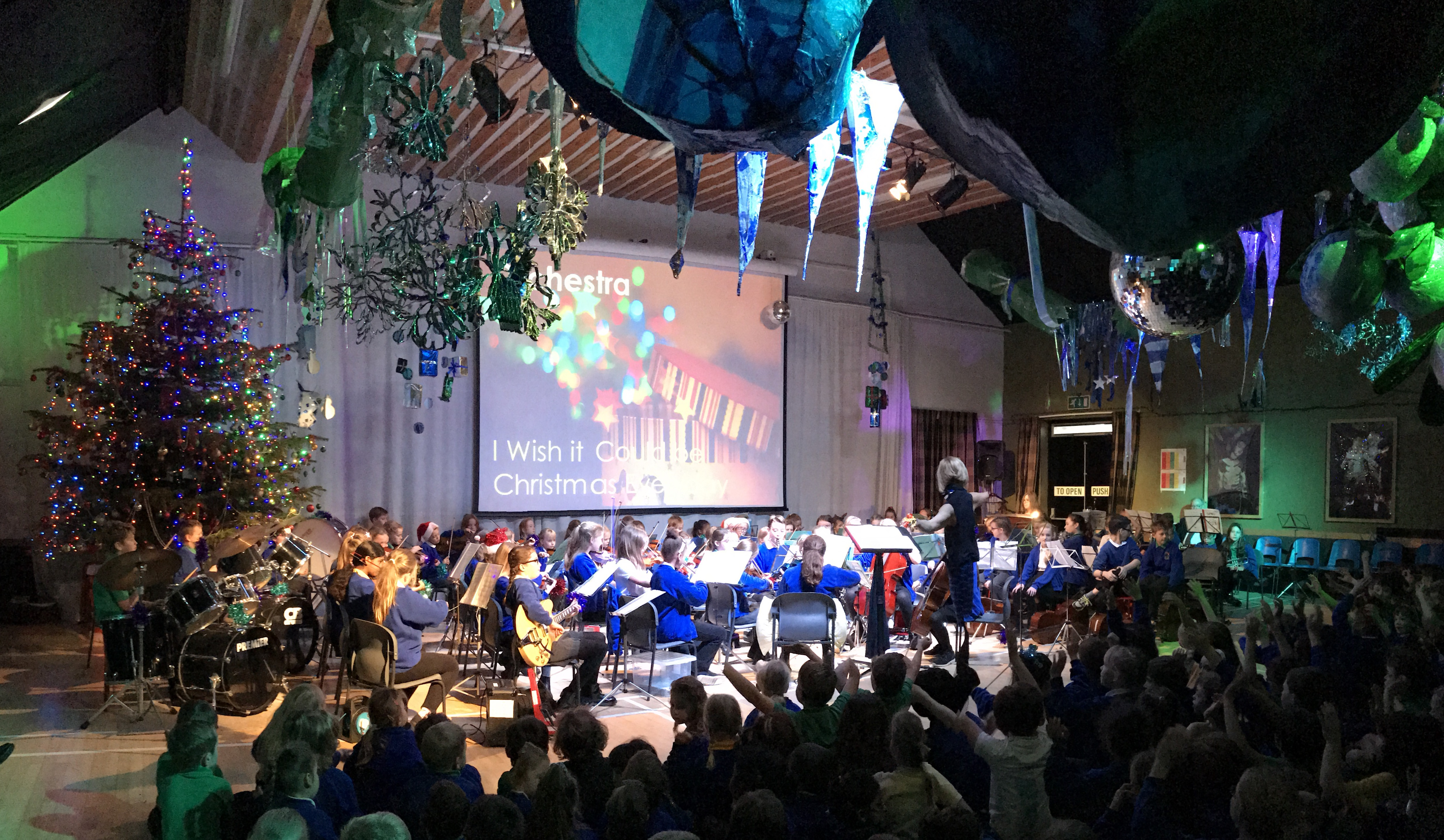 The Orchestra At Christmas | Molescroft Primary School