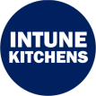 Intune Kitchen Round Transparent on Blue PNG